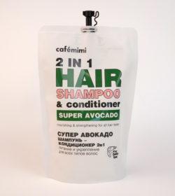 Шампунь-кондиционер для волос 2 в 1 СУПЕР АВОКАДО (Питание и Укрепление) - рефил